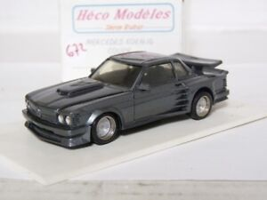 Heco-47-1-43-1989-Mercedes-Benz-500SL-Koenig-R129-Handmade-Resin-Model-Car