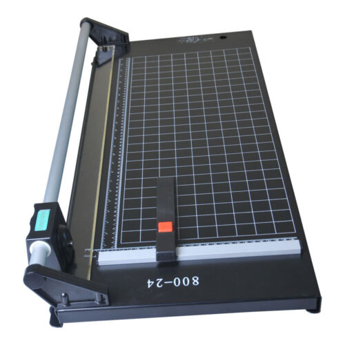Rotary Paper Trimmer,Sharp Photo Paper Cutter Brand New 24 Inch Rotary Trimmer