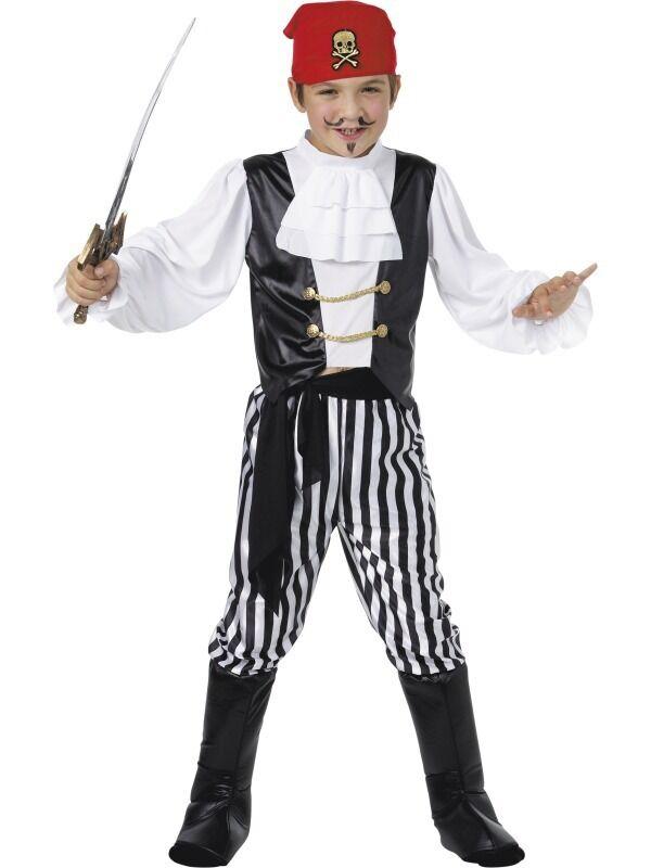 Jungen Mädchen Kinder Jolly Roger Piraten Party Kostüm Kleid Kleid Kleid Outfit 4-12yr Jahre | Verschiedene Stile  | Züchtungen Eingeführt Werden Eine Nach Der Anderen  | Einfach zu bedienen  ae82d9