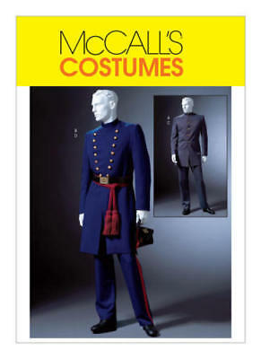 PATTERN 2sew Civil War Officer Uniform Sz S M L McCalls 4745 Union Confederate