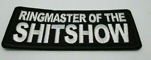 Biker-Leather-Vest-Patch-RINGMASTER-OF-THE-iron-on-or-sew-on-Harley-Rider