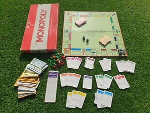 VINTAGE-WADDINGTONS-ORIGINALE-Monopoly-Board-Game-1970