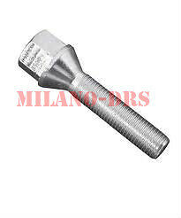 10 BULLONI CONICO M12x1,25 L=46mm Ch17