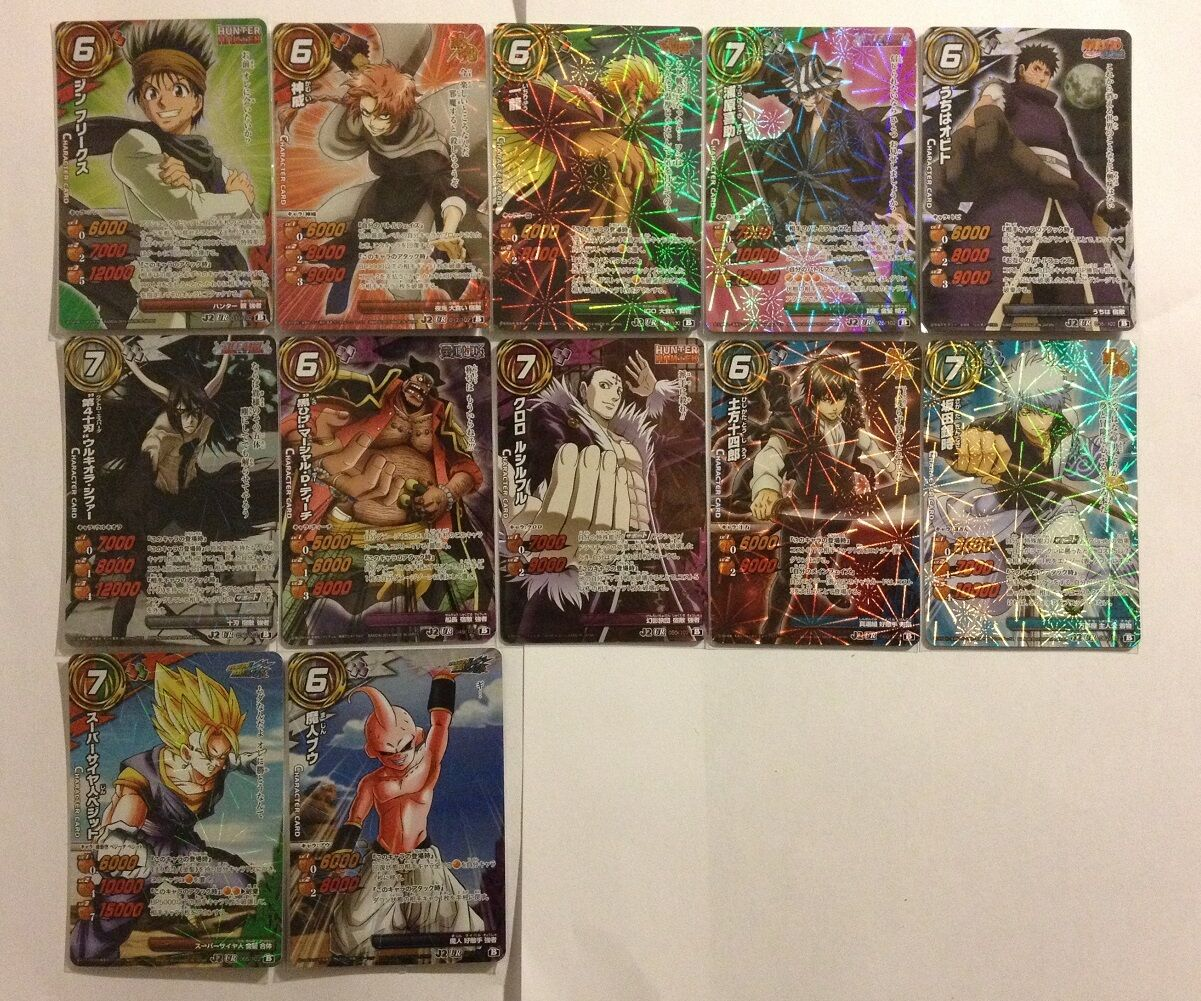 Miracle Battle Carddass J-Heroes J-Heroes J-Heroes J2 Utra Rare Set AS02 12 12 138e37