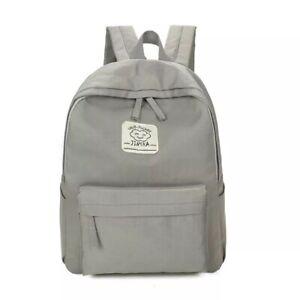 Toile-Sac-a-Dos-Sac-D-039-Ecole-Jeunes-Filles-Garcons-Sacs-pour-ordinateur-portable-14-034-iPad-Plus