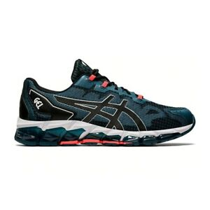 Asics Tiger Gel-Quantum 360 6 Sneaker Uomo 1021A337 400 Magnetic Blue Black
