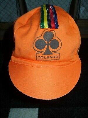 COLNAGO CYCLING CAP ITALIA HAT CAP POLYESTER SUBLIMATED UV RAY PISTA FIXED C50