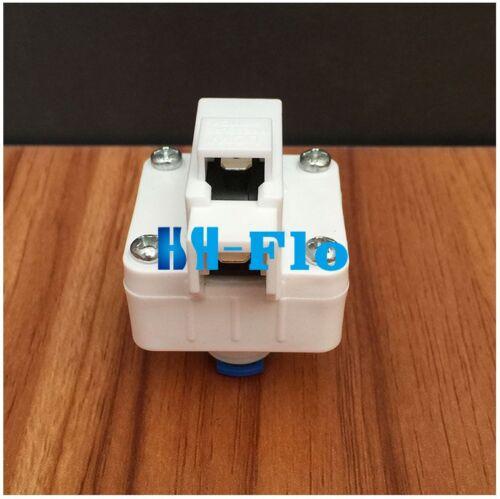 """2pcs 1//4/"""" DC24V Basse Pression Interrupteur Pour Pompe Ro Eau Fitlers avec Quick Connect"""