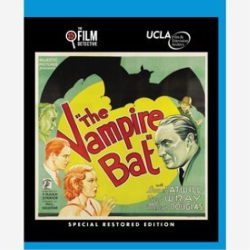 The Vampire Bat - Special Edition (the Film Detective R (US IMPORT)  Blu-Ray NEW