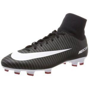 4ab9fdd4af66 Nike Mens Mercurial Victory VI DF FG Soccer Cleats Black (903609-002 ...