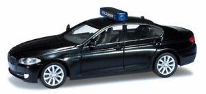 HERPA-700627-BMW-serie-5-Touring-nero-polizia-militare-tedesca-H0-1-87