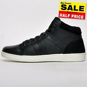 SALE - REAL LEATHER Red Tape Manley Men's Mid Casual Lace Up Boots Trainers