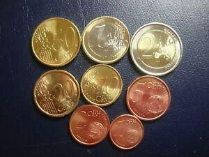 EspaÑa 1999 Serie 8 Monedas Euro