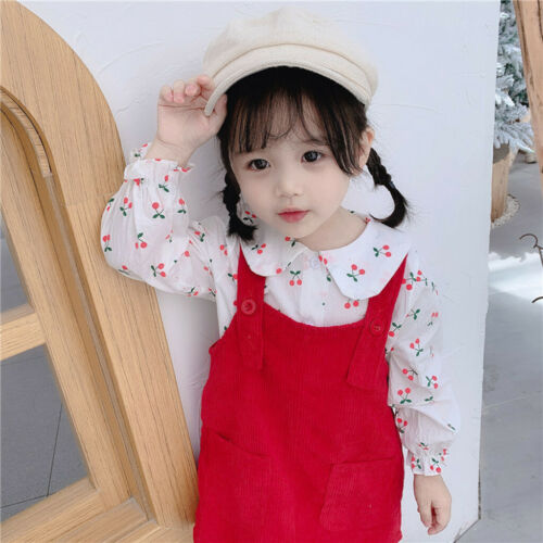 Dress Outfits Set Cacual Clothes ac 2PCS Toddler Baby Kid Girls T-shirt Tops