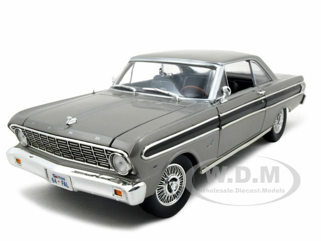 1964 FORD FALCON GRAY 1//18 DIECAST MODEL CAR BY ROAD SIGNATURE 92708