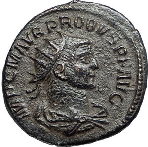 PROBUS-w-Jupiter-Authentic-Ancient-Original-276AD-Antioch-Roman-Coin-i67100