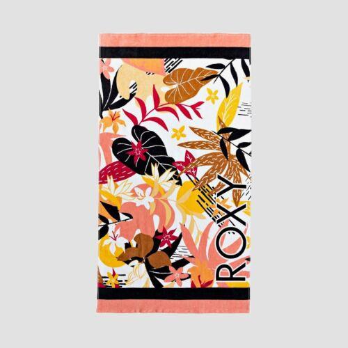 Womens Roxy POP Surf Beach Towel Bright White Niranta