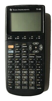 Texas Instruments Ti-86 Graphing Calculator TI86 With Cover for sale online