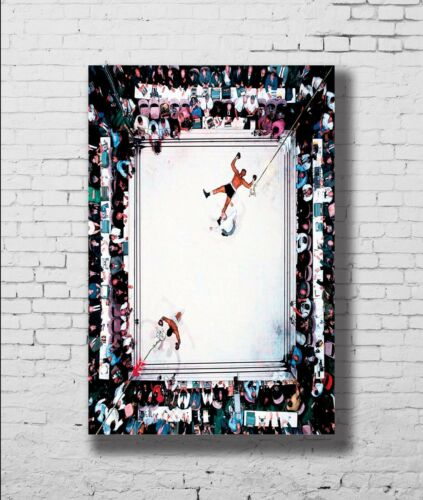 Muhammad Ali King of Boxing Great Top Player New Print Poster 24x36 27x40 P140