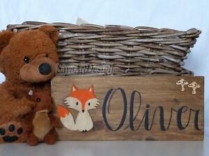 Custom Wall Hanging Baby Fox