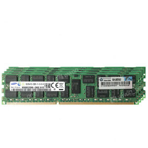 Samsung-64GB-4x16GB-2RX4-PC3-12800R-DDR3-1600MHz-240Pin-ECC-REG-Server-Memory