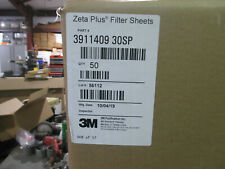 3m Zeta Plus Filter Sheets Box Of 50 Pt 3911409 30sp 194 Disc