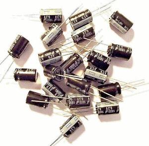 1800Uf 6.3 V EEUFR 0J182 Condensador Panasonic Radial