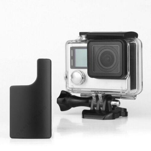 Pieza de reemplazo bajo el agua Impermeable Carcasa Cerradura para GoPro Hero 3+4 DSUK