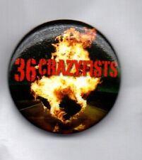 36 CRAZYFISTS BUTTON BADGE - ALASKAN HEAVY / NU METAL / METALCORE BAND 25mm PIN