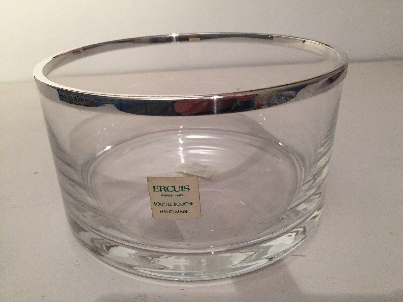 ERCUIS Paris Crystal Glass Cercle Ciotola