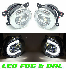 FOR NISSAN Navara D40 5/2005-  Front LED fog lights & DRL pair left & right