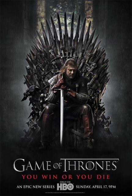 "HBO TV Series Game of Thrones Season 7 Poster 18x12 36x24 40x27/"" Wall Art Decor"