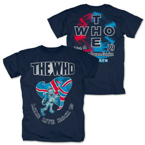 The-Who-Long-Live-Rock-79-Shirt-Official-Merch-M-L-XL-Neu