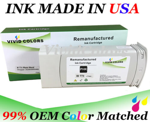 Remanufactured HP 771 PHK B6Y21A Ink Cartridge For HP Z6800 Printer