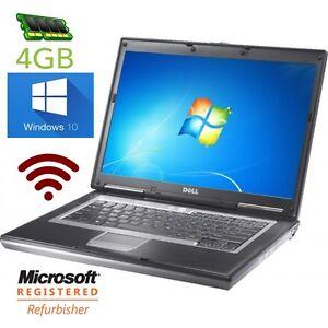 DELL-LATiTUDE-D630-D620-C2D-2GHz-14-034-WINDOWS-10-DVD-WiFi-4GB-RAM-e5400-e6400