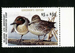 US-Duck-Delaware-Stamps-11a-XF-Governors-edition-OG-NH-Scott-Value-85-00