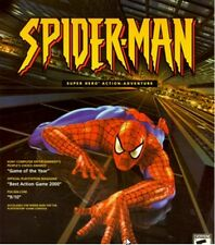 Spider-man 1 9/10 best action game of year PC XP CD