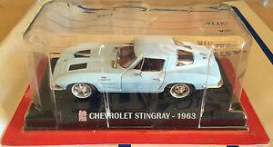 """1963/"""" Scale 1//43 CAR plus Die Cast /""""Chevrolet Stingray Box 1"""