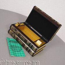 itt Corona Zigarettenspender Tisch Feuerzeug in Buchform Hamlet Retro 60er Jahre