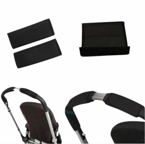 Black soft Fabric Handle Cover Chassis To fit Thule jogger Baby strollers Black