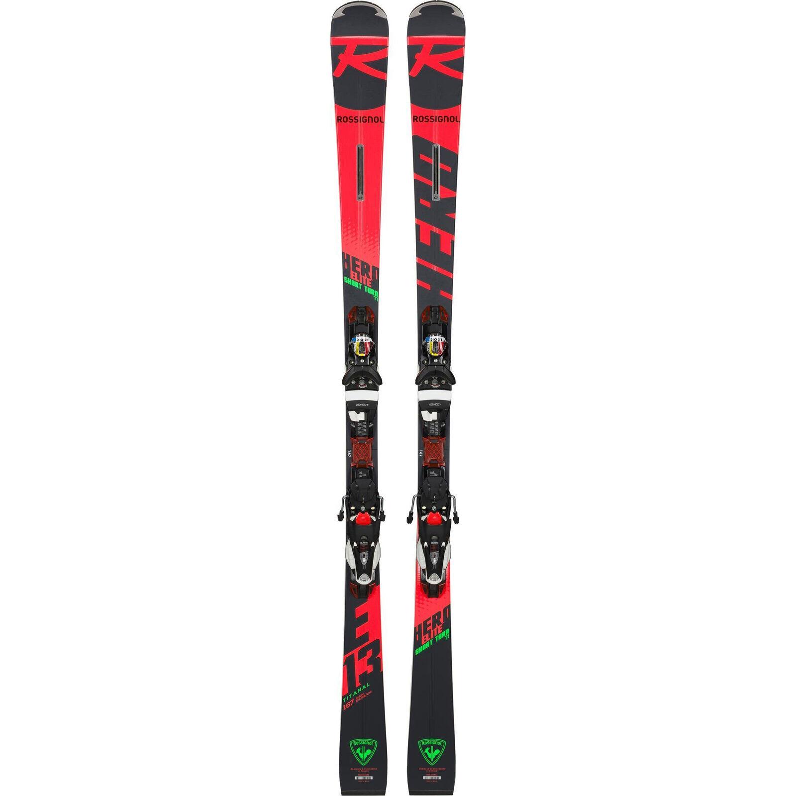 Rossignol Hero Elite ST Ti - Slalom Carving Ski + SPX 12 Konect Bindung - 18 19