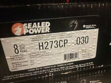 Sealed Power Sb Ford 289 302 Hypereutectic Coated 4vr Flat Top Pistons 4030