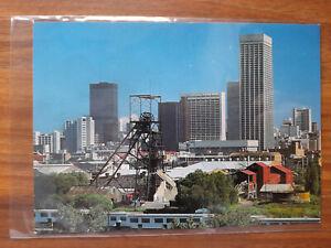 Johannesburg Landmarks The Village Main Reef mine South Africa postcard