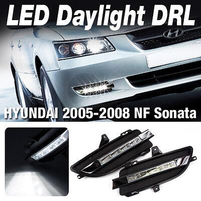 Fit HYUNDAI 2005 - 2008 NF Sonata FOG LAMP LED Daytime Daylight DRL [L+R SET]
