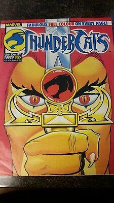 Thundercats Issue 48 Marvel UK Comic Magazine