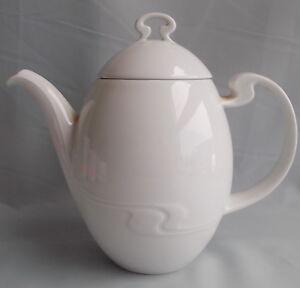 Rosenthal Asimmetria weißgold Kaffeekanne
