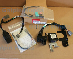 genuine oem honda pilot trailer harness kit 2012 2015. Black Bedroom Furniture Sets. Home Design Ideas