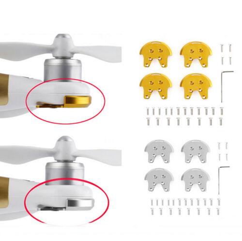2 Drone RC 4 pcs cnc metall motorlager basis schutzscheibe für dji phantom 3