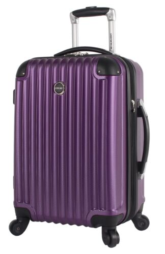 Lucas Outlander Carry on Hard Case 20 Inch Expandable Rolling ...