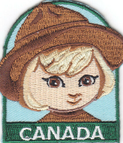 "REGIONS Iron On Embroidered  Patch NATIONS COUNTRIES /""CANADA/"" PATCH"